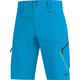 GORE WEAR C3 Trail Shorts Heren, dynamic cyan